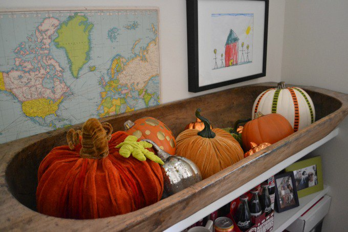 Inexpensive Easy Fall Decorating Ideas | Karen Cooper | Dogs Don't Eat Pizza | Mohawk Homescapes