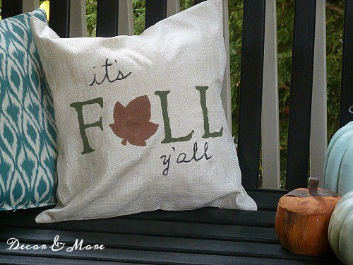 Front Porch Refresh for fall