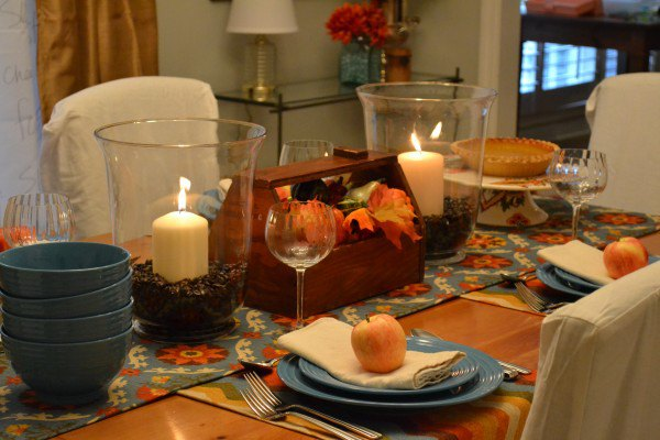 Natural Tablescapes for Fall - Inspiring Fall Tables - Heidi Milton - Mohawk Home - Dogs Don't Eat Pizza