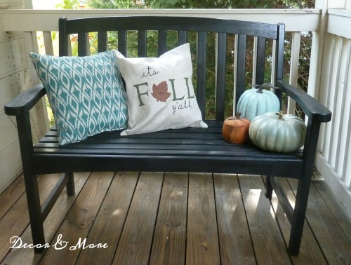 Front Porch refreshed for fall
