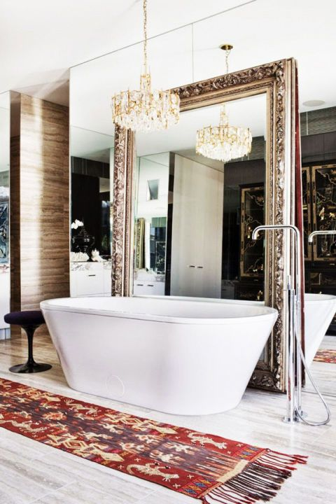 Luxe looks for under $100 - fancy light fixtures - Heidi Milton - Harpers Bazaar