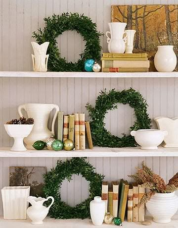 easy elegant holiday decor - mohawk home - heidi milton - a seaside house