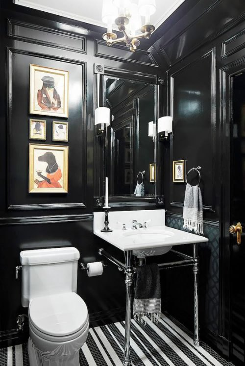 Glam Up a Tired Bathroom - Heidi Milton - ideas to add glam - Mydomain