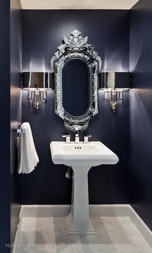 Glam Up a Tired Bathroom - Heidi Milton - ideas to add glam - Places in the Home