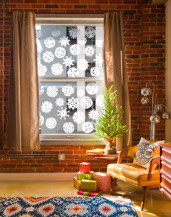 kid-friendly crafts winter break - Mohawk Home - coffee filter snowflakes - Mom.me