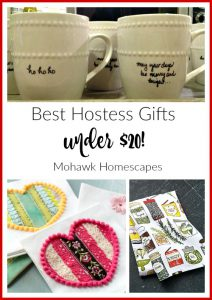 Best Hostess Gifts Under $20 | Karen Cooper | Dogs Don't Eat Pizza | Mohawk Homescapes