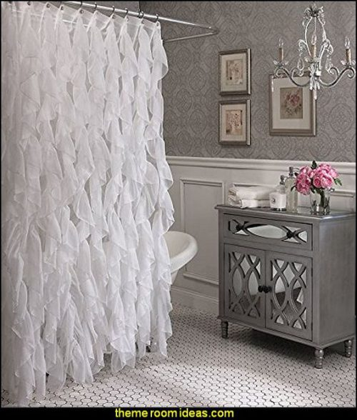 Glam up a tired bathroom - Heidi Milton - ideas to add glam - use mirrors - theme rooms