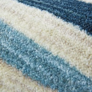 Close up of pile on Aurora area rug.