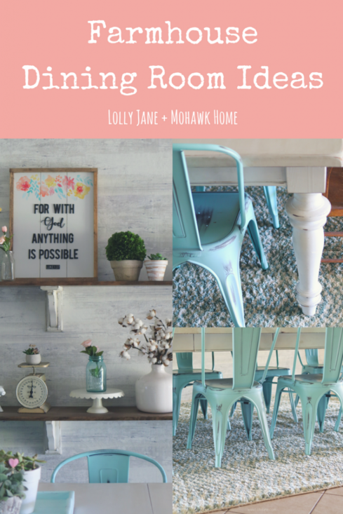 Farmhouse Dining Room Ideas from Lolly Jane and Mohawk Home