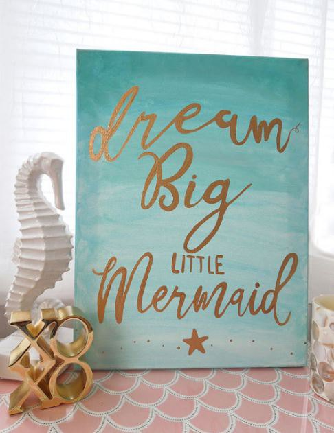 Speaking of an Island Paradise, how adorable is this whimsical sign? Shop this look on Etsy.