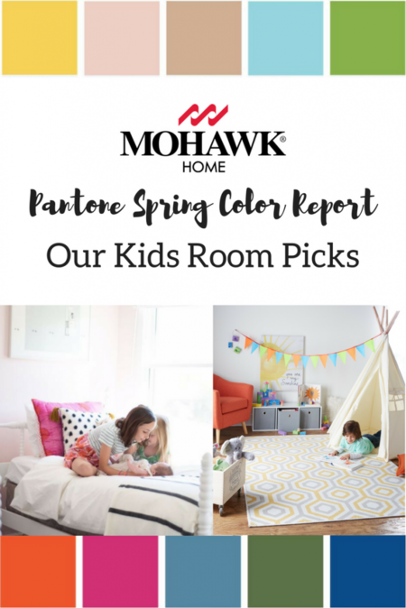 Kids Rooms using Pantone's Spring Picks (1)