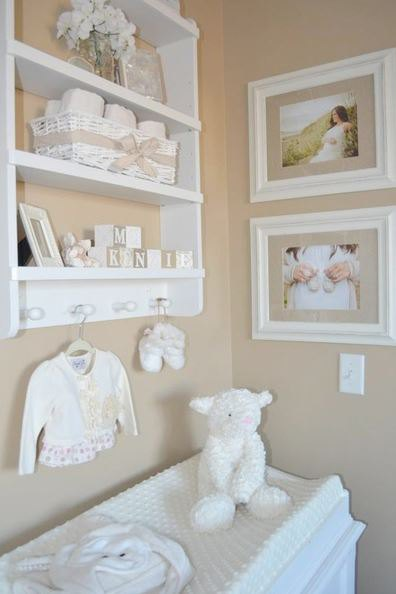 We love this simple, neutral nursery from The Little Umbrella blog