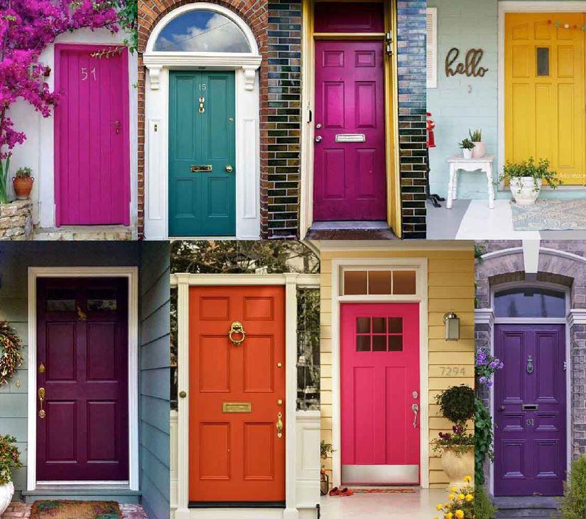 Jewel Tones Doors- Front Door Paint Colors- Mohawk Home & Freshen Up Your Front Door | Mohawk Home
