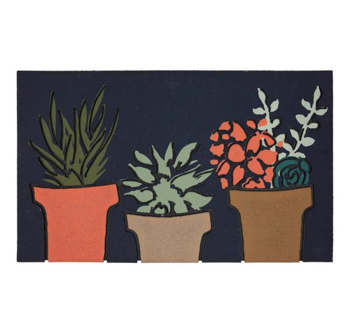 Botanical Recycled Rubber Doormat by Mohawk Home