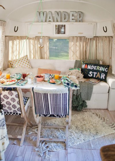 Bohemian Camper Makeover- Vacation- Escape