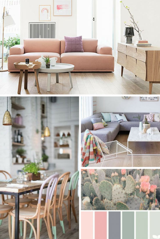 Mood Board Pastel Decorating Tips