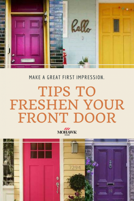 Tips to Freshen Your Front Door- Mohawk Homescapes