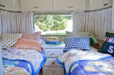 Camper Makeover- Escape- Vacation Home Decor