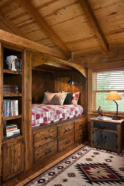 Log Cabin Home- Vacation Decor Ideas- Escape