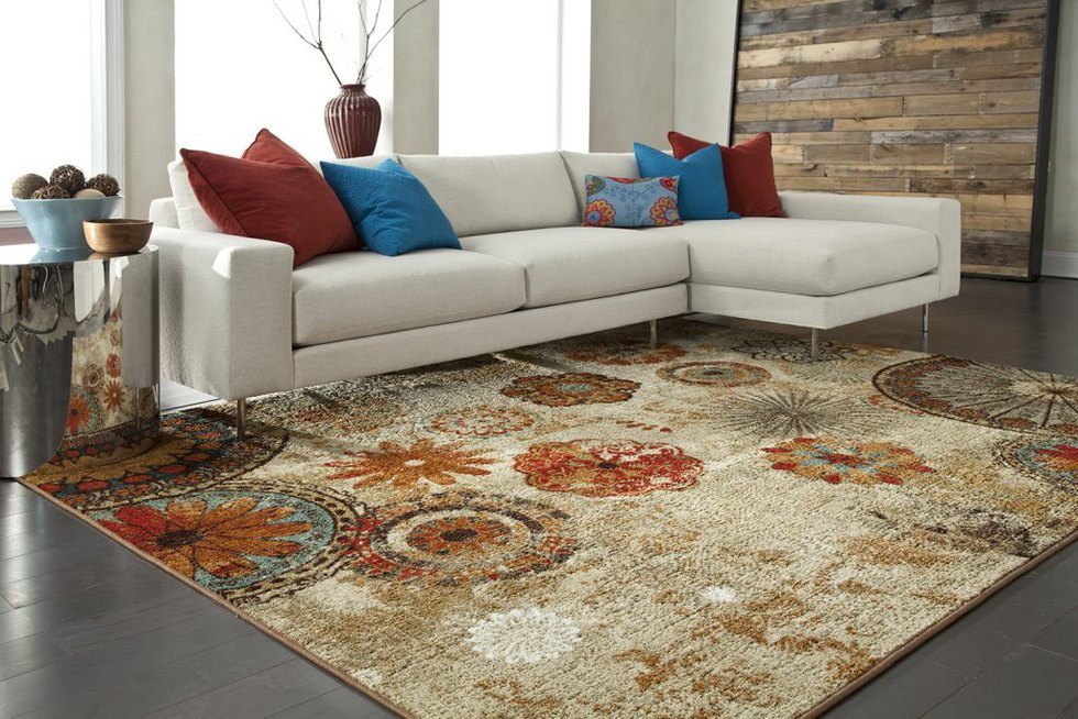 Mohawk Home | Caravan Medallion Area Rug