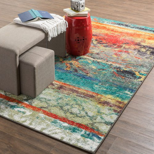 Mohawk Home | Eroded Color Modern Area Rug