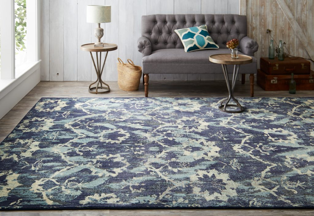 Mohawk Studio Luminous Indigo area rug by Patina Vie