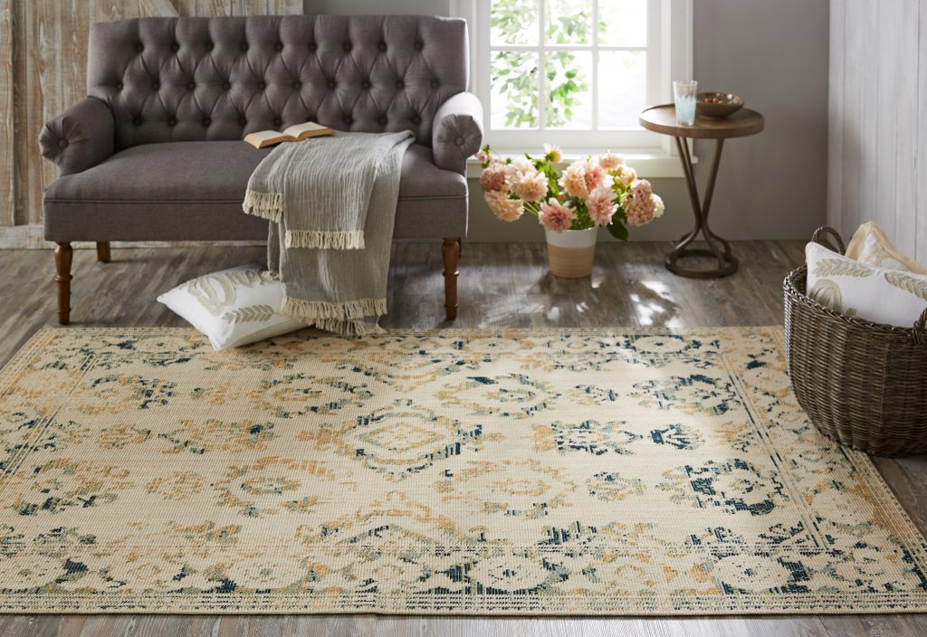 Mohawk Home Heirloom area rug available online at Wayfair