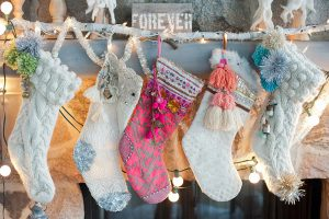 Colorful Holiday Stockings