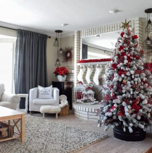 Mohawk Holiday Home Tour featuring Our Burlap Bungalow