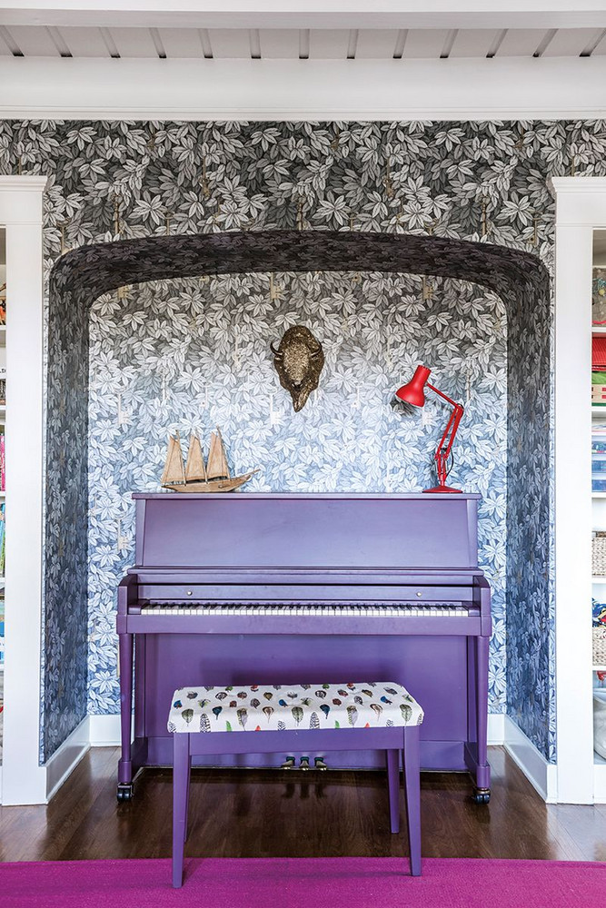Purple Piano | Decorating Inspiration with Pantone's Ultra Violet