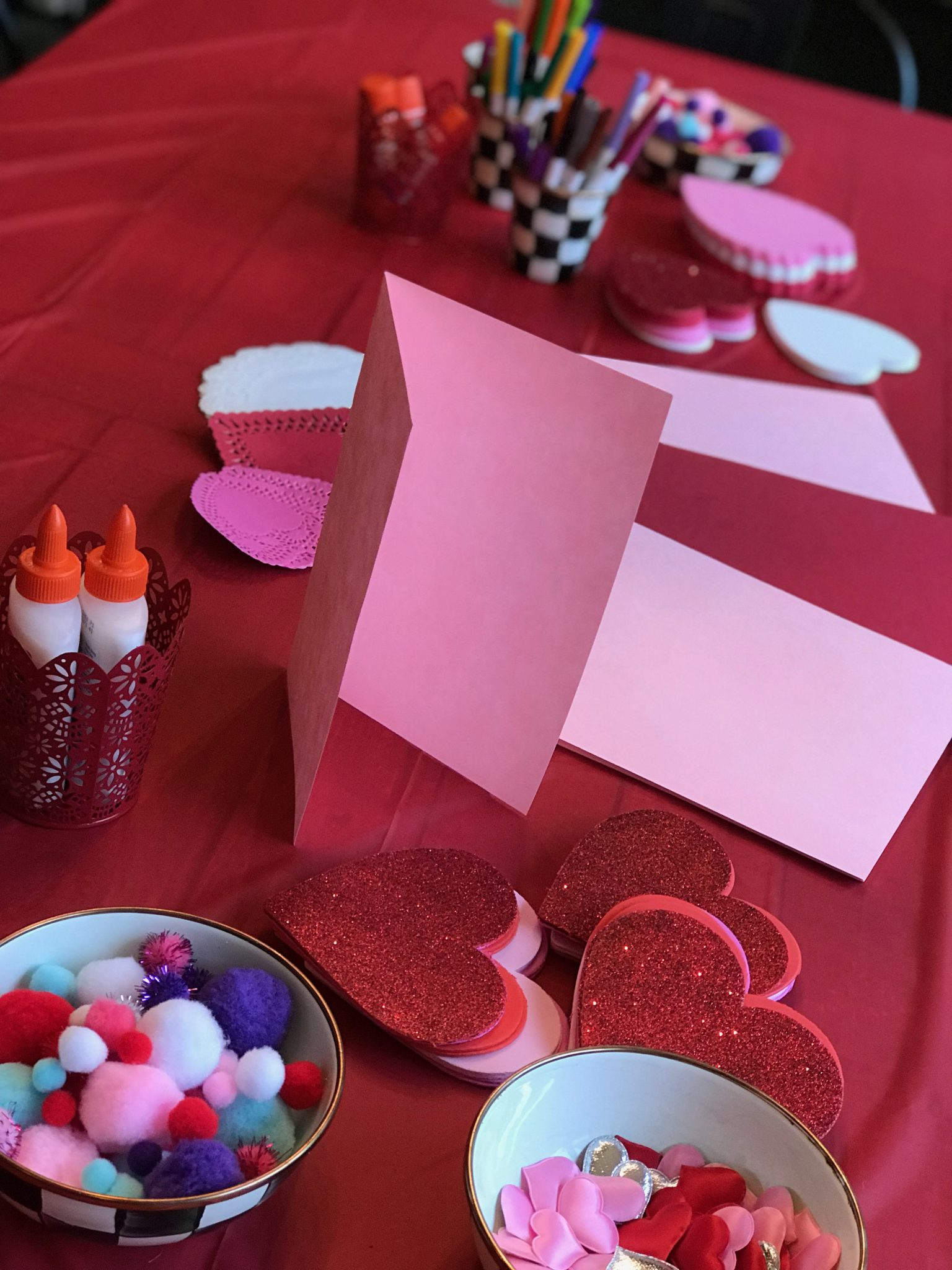 Celebrating Valentine\'s Day with a Mother and Daughter Tea Party