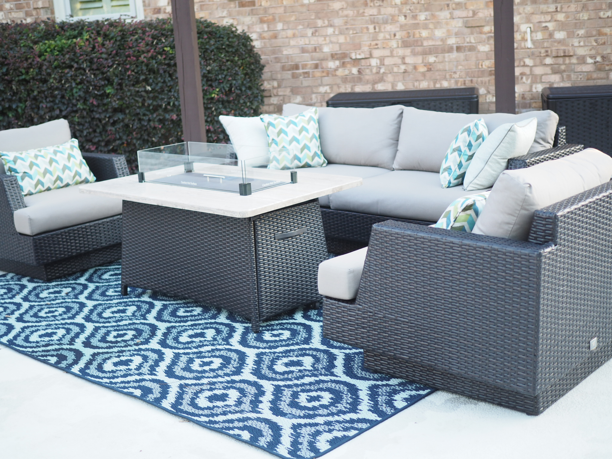Summer Style With Outdoor Area Rugs Mohawk Home