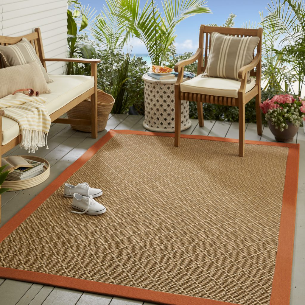 Mohawk Sisal Sunbrella Indoor/Outdoor Area Rug