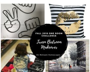 fall 2018 one room challenge tween bedroom makeover