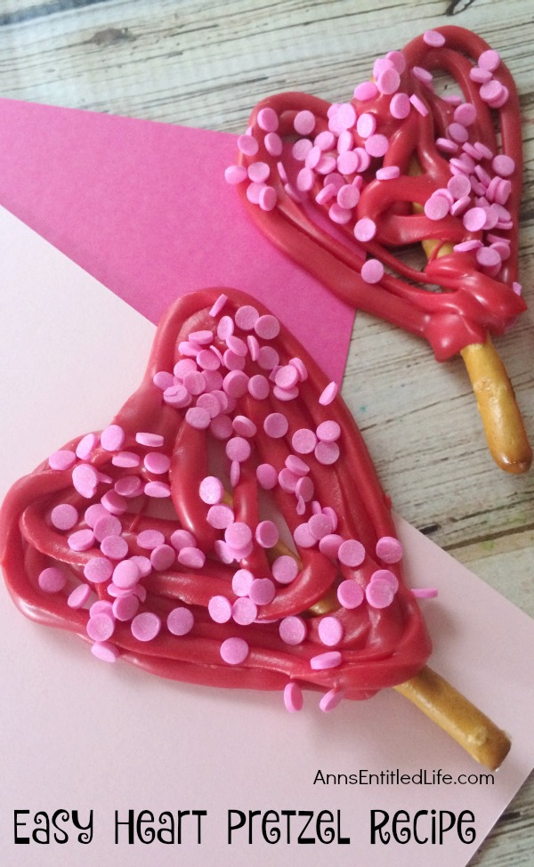 Valentine's Day recipes for kids on Mohawk Homescapes
