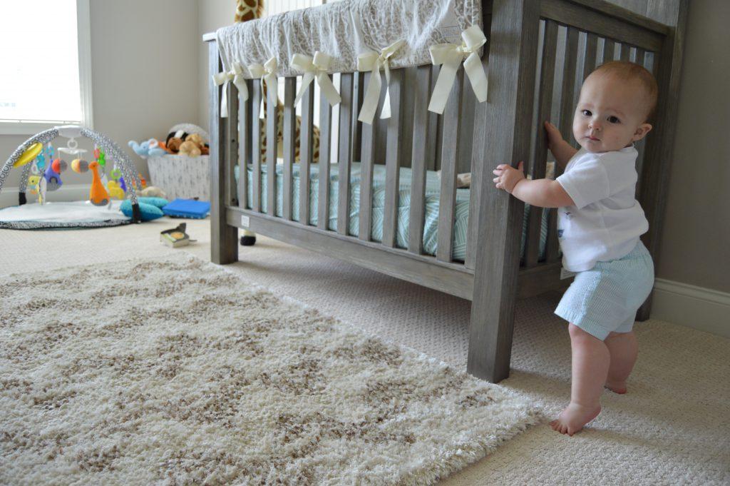 Baby boy nursery makeover