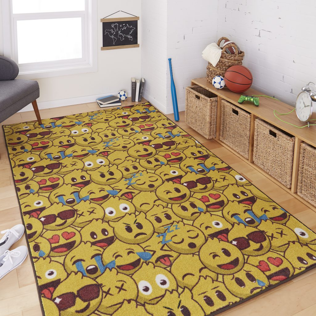 Mohawk Home Prismatic Emoji Play Area Rug