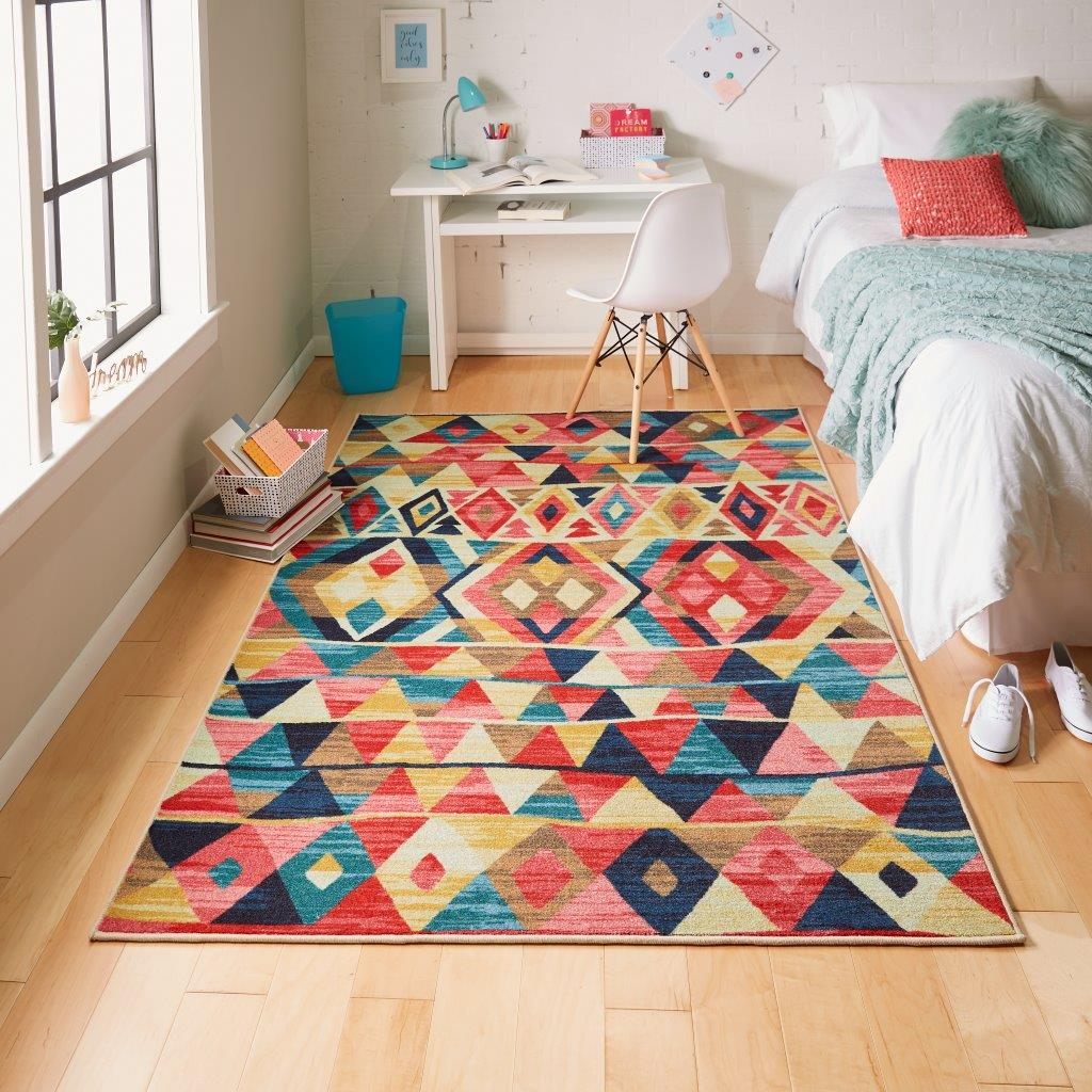 Mohawk Home Crowley Printed Area Rug in Multi