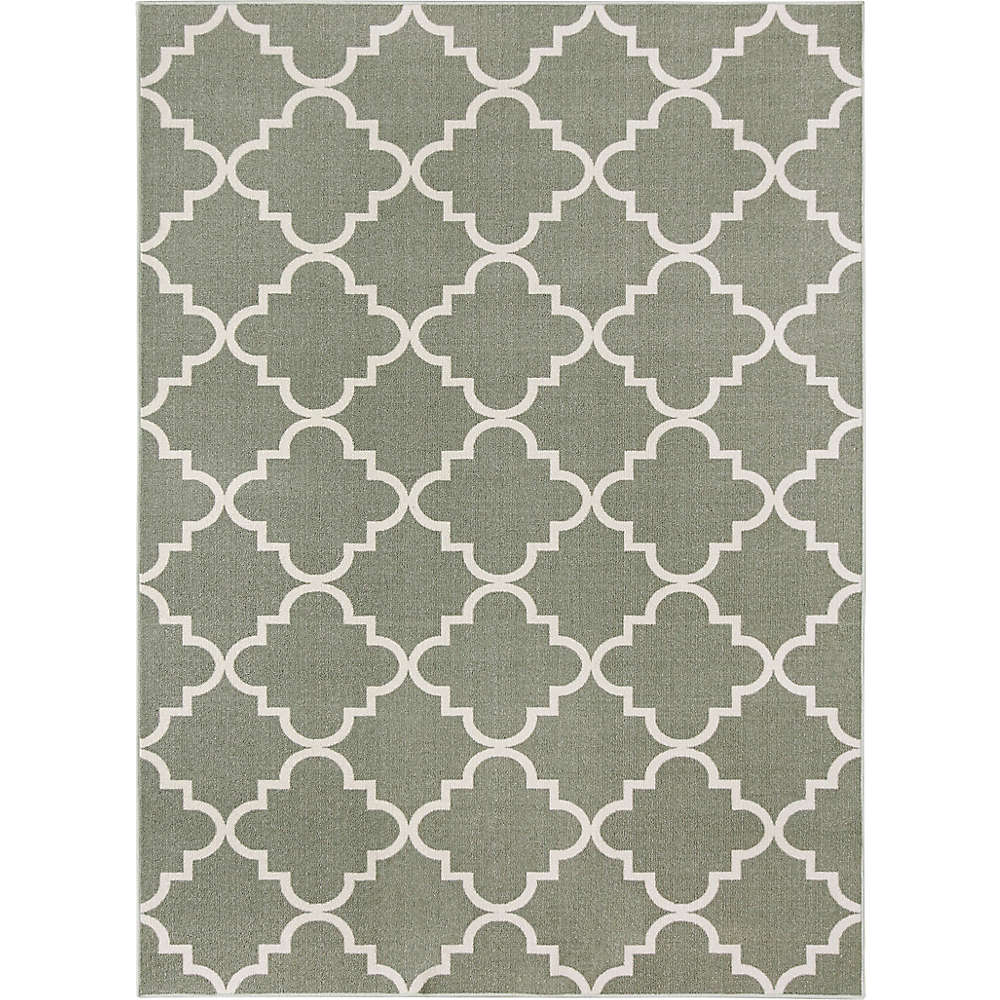 Fancy trellis area rug by Mohawk Home