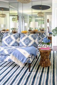 summer coastal cool interior design with Mohawk Home