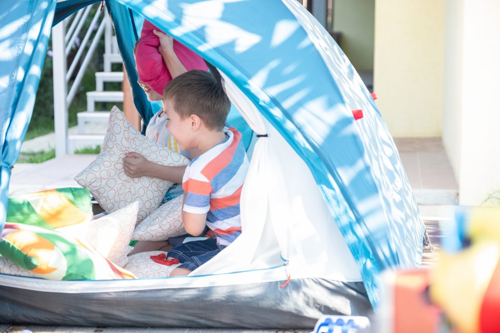 camp in the backyard and other staycation tips from Homescapes