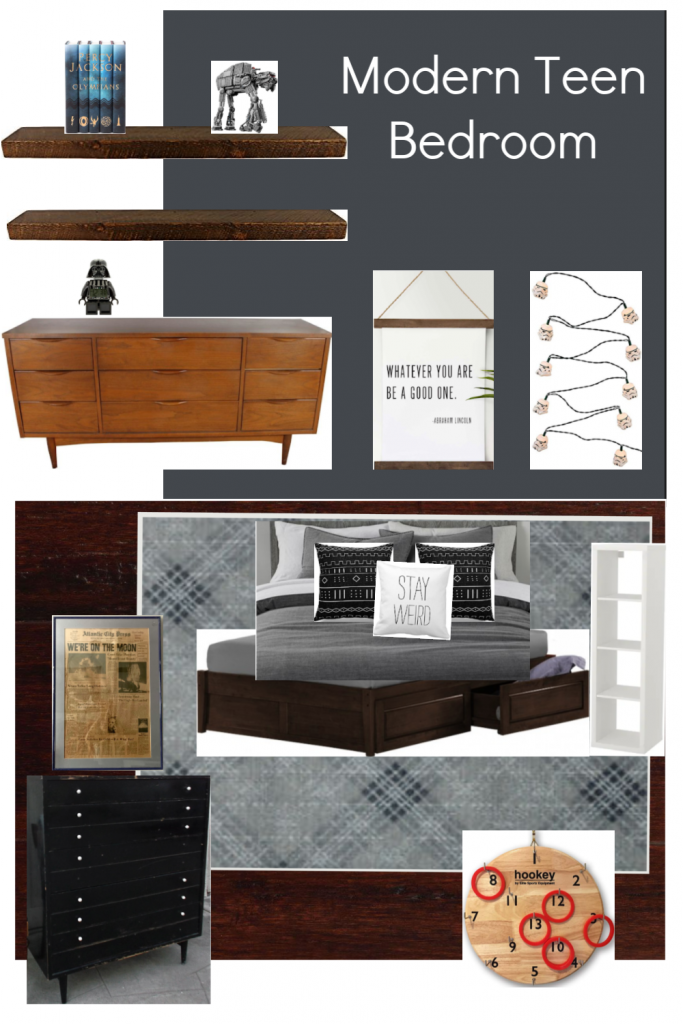 design for the teen boy bedroom makeover