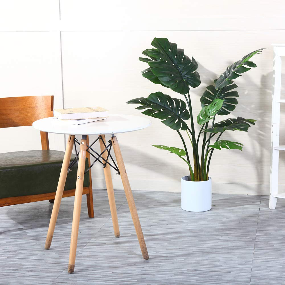 Artificial tropical palm tree in a pot on sale at Amazon