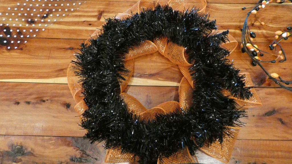 DIY Halloween Wreath from Mohawk Homescapes