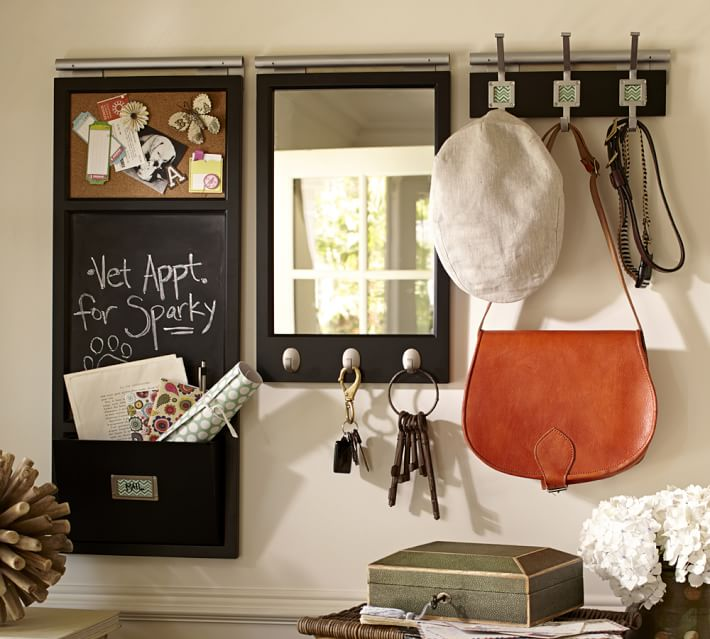 Build your own daily system for easy organization from Pottery Barn
