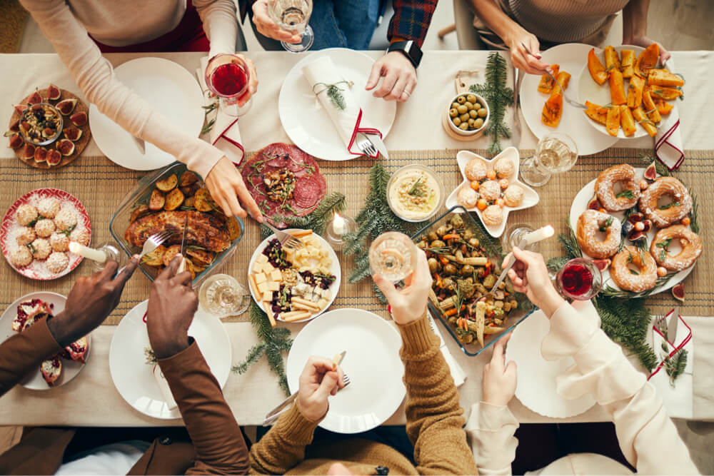 Holiday entertaining includes a giant feast!