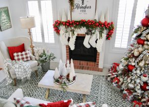 Holiday home decor at Home by Heidi